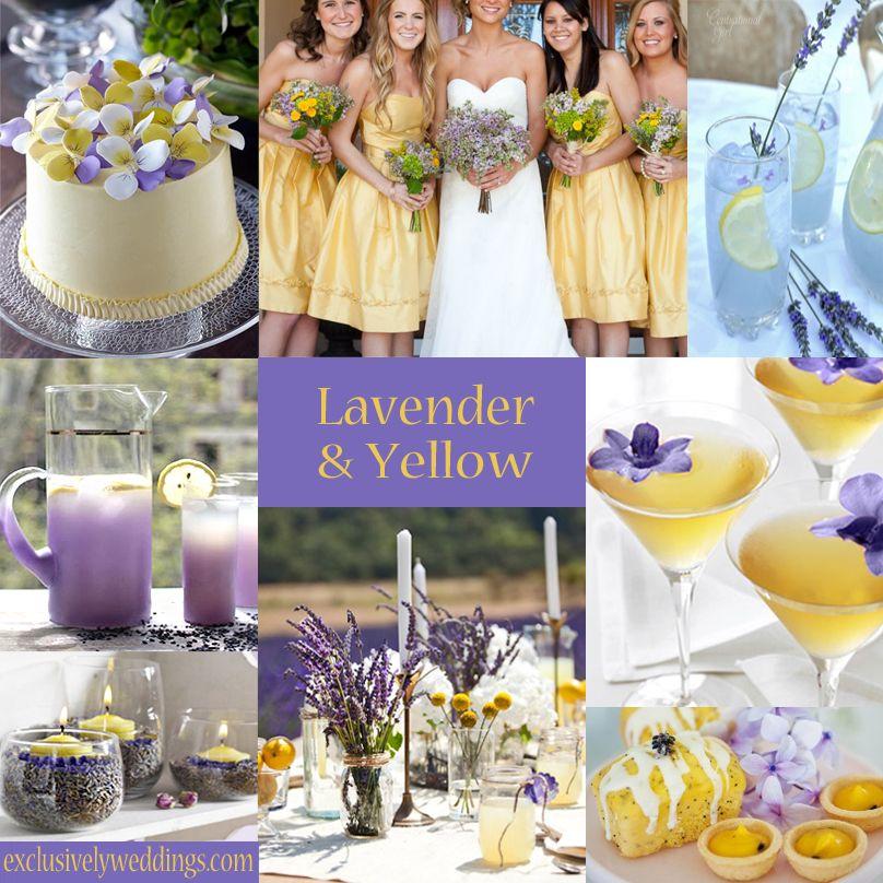 Yellow Wedding Color - Combination Options