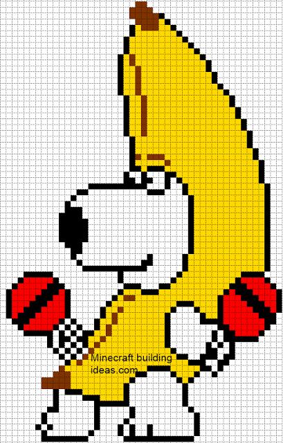 Minecraft Pixel Art Templates Brian Minecraft Pixel Art Pixel Art Templates Pixel Art Grid