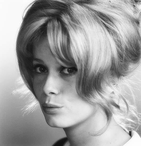 """Catherine Deneuve photographed by Walter Carone, 1963. """