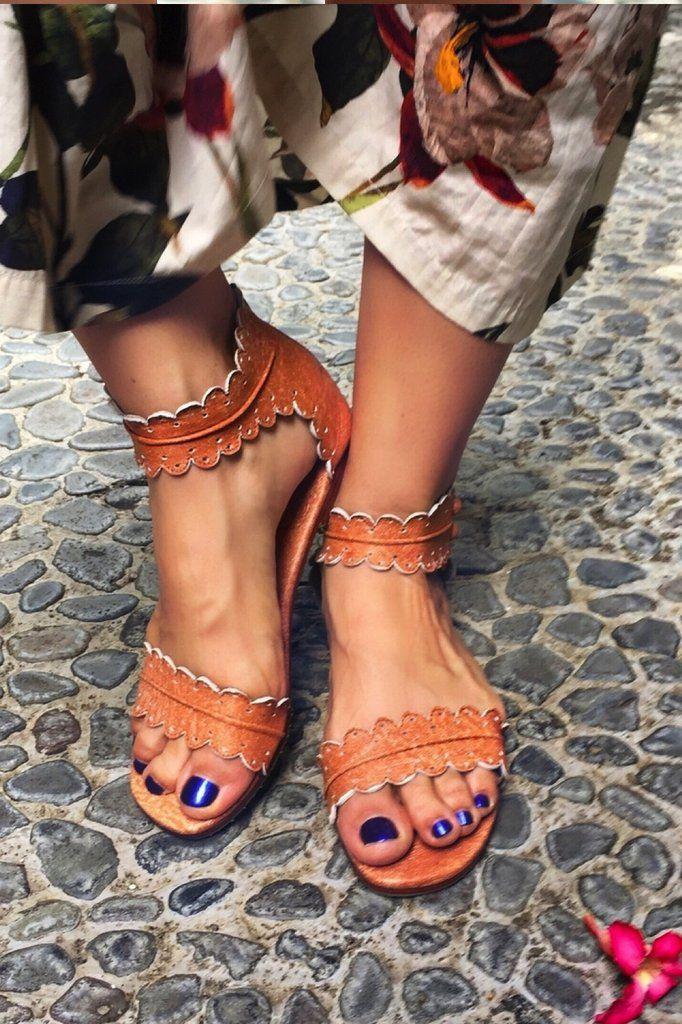 b1a17661c9e7 Midsummer. Handmade beautiful leather sandals. – ELF