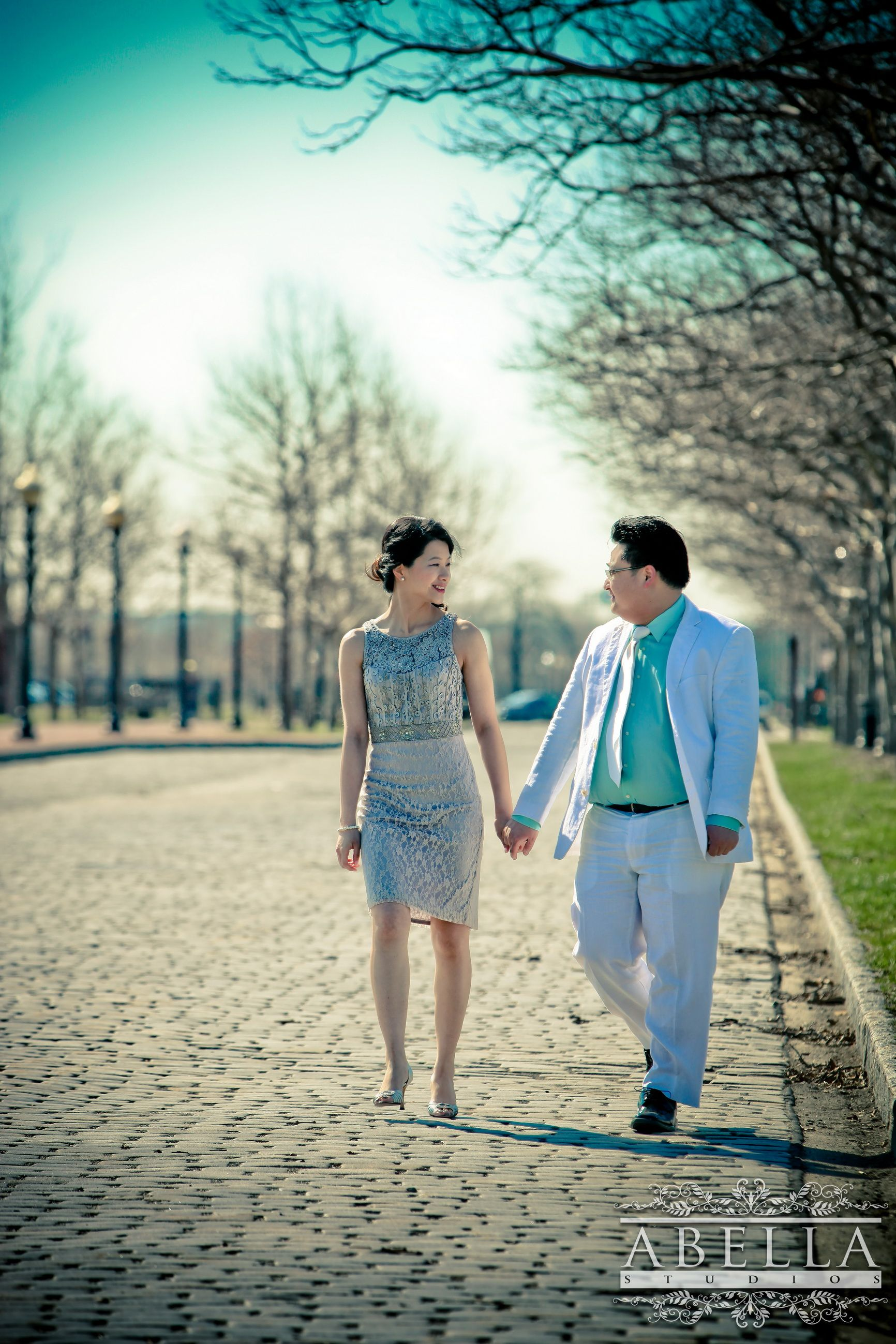 Liberty State Park Engagement Session in NJ :: New York City ...