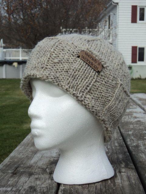 96f3f583dee Mens Winter Hat wool mohair by WendysWonders127 on Etsy