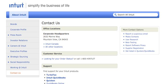 Intuit Help | Corporate profile, Investor relations, Beta ...