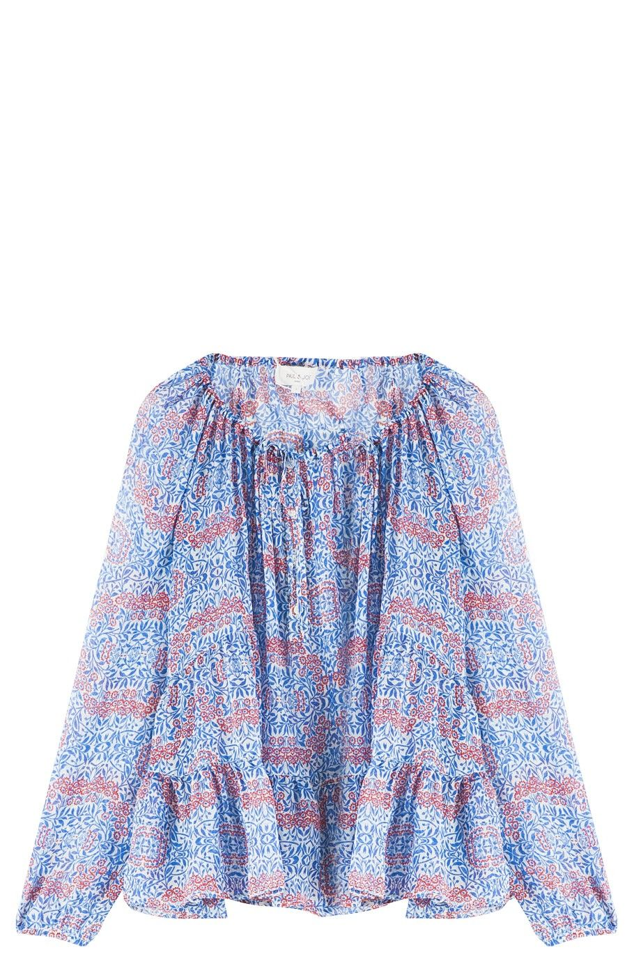 Floral Top By PAUL