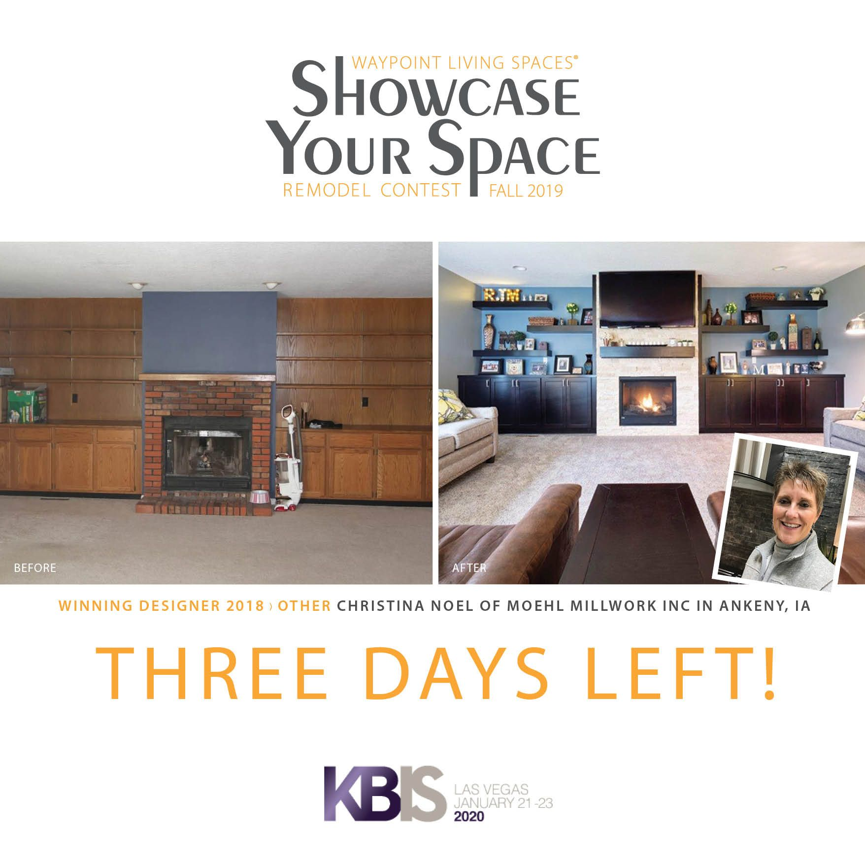 Only 3 days left to submit your winner! #
