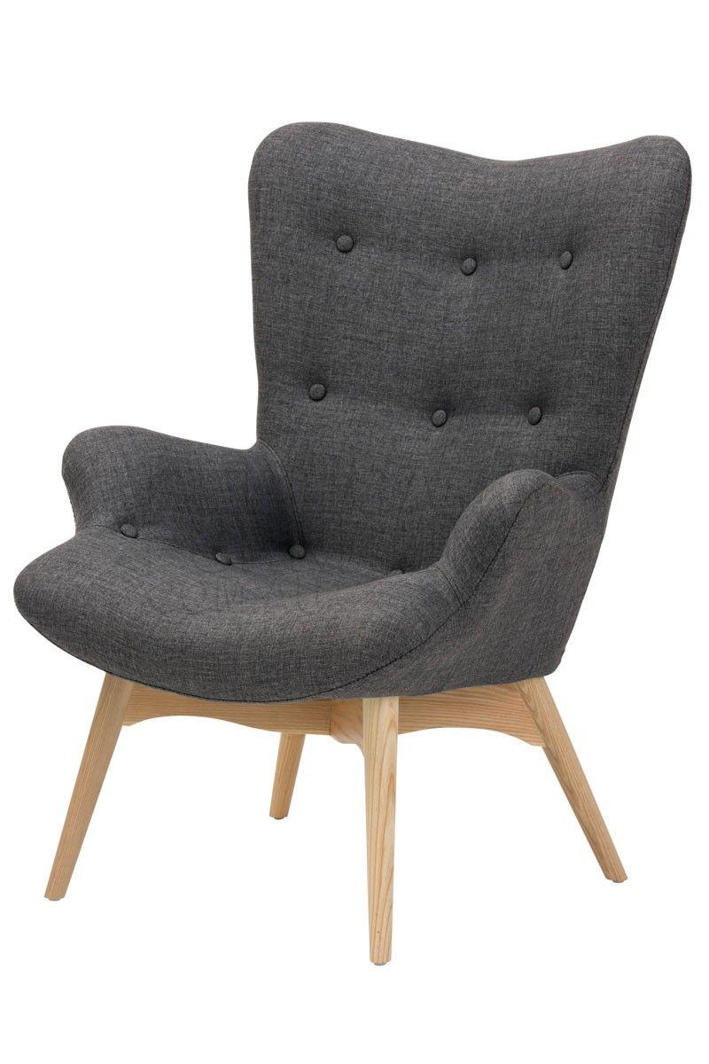 Premium Grant Featherston Chair and Ottoman Grey - Replica ...