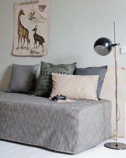 Bemz Rhabille Votre Canape Ikea Shake My Blog Salle De Yoga A La Maison Decoration Maison Canape Ikea