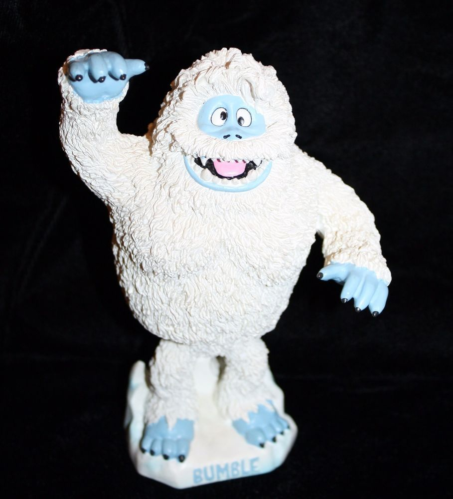 """Rudolph The Red Nosed Reindeer BUMBLE BOBBLEHEAD Abominable Snowman 6.5"""" #BDA"""