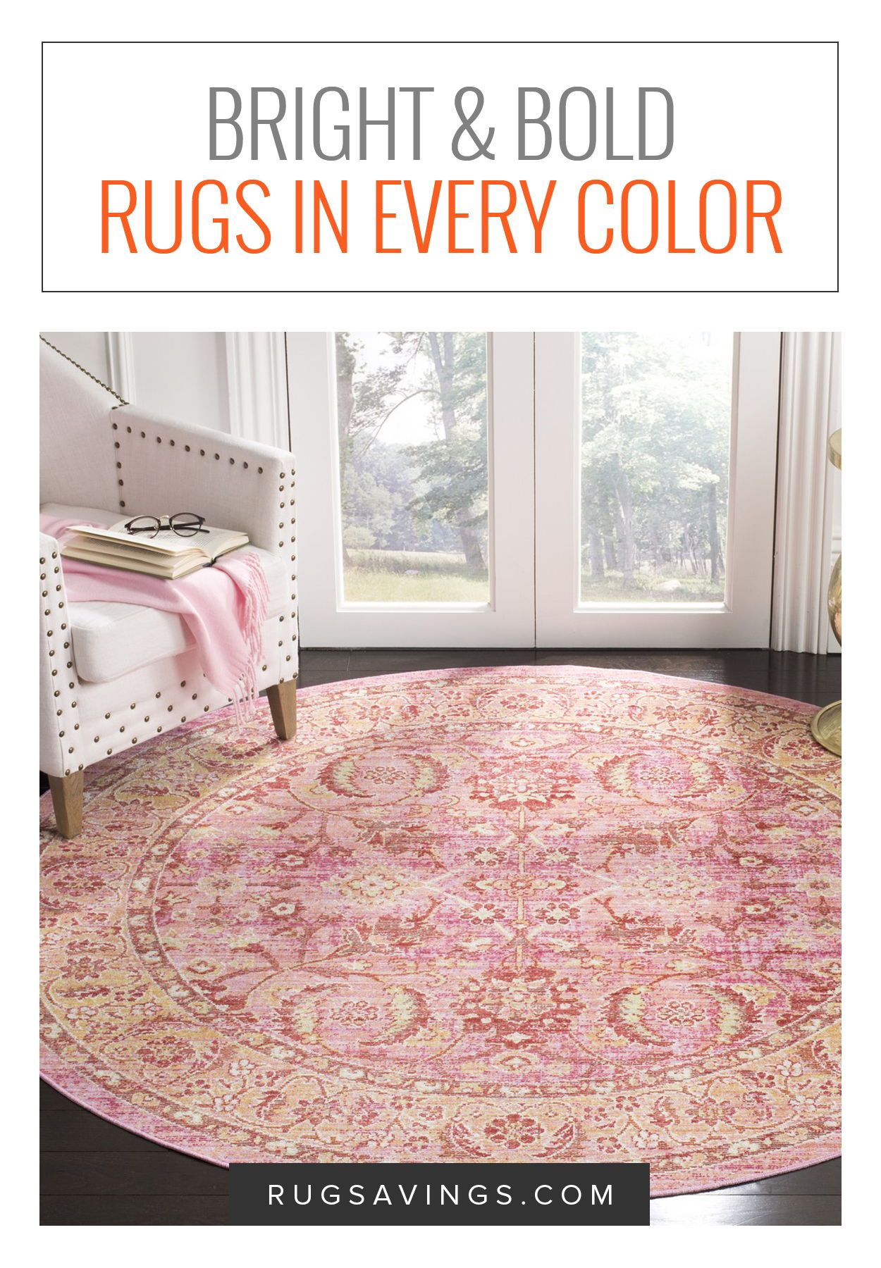 bright and bold rugs are a wonderful way to bring pattern and style rh pinterest com