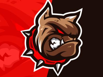 Spartan Esport Logo Gaming Team Esports Logo Pitbull Art Wild Logo