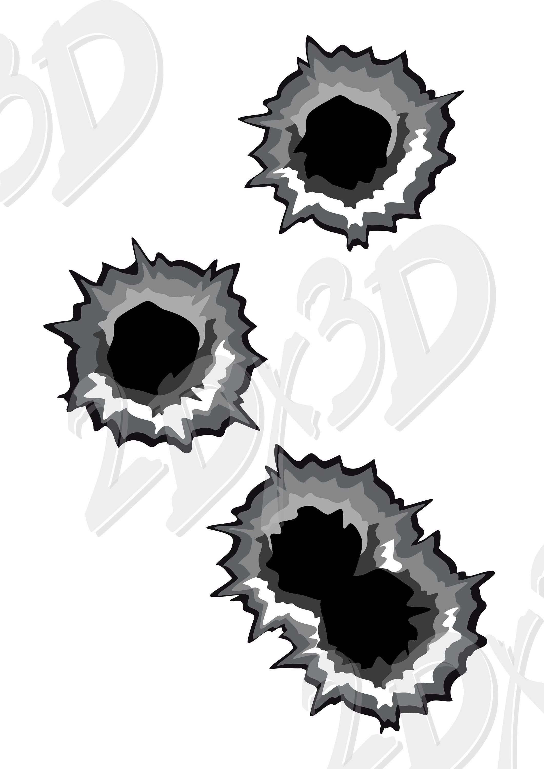 16++ Bullet hole clipart png information