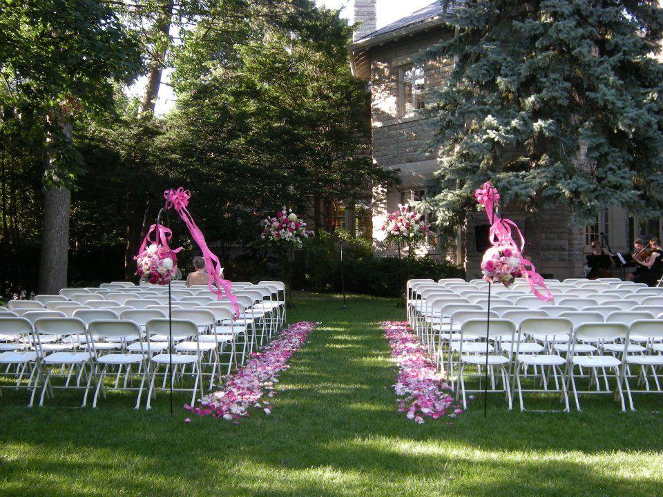 St Paul College Club Outdoor Wedding