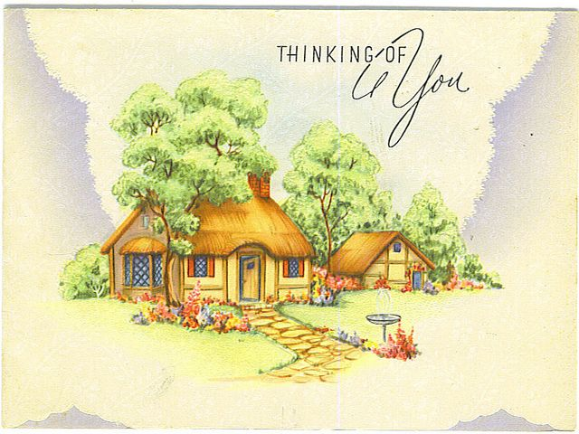 Thinking Of You card by Tommer G, via Flickr