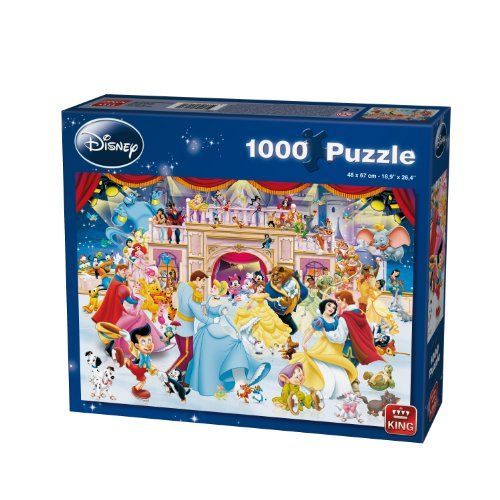 King Disney Ferien Auf Eis Jigsaw Puzzle - 1000 Teile