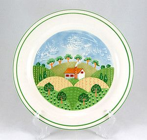 Sango COUNTRY COTTAGE Chop Plate. Low Prices, Fast Shipping, Easy Returns, and your entire order ships for only $4.99, to the Lower 48 states only at http://www.totallytableware.com/
