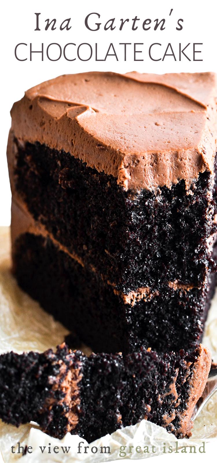 Ina Garten S Chocolate Cake Desserts Yummy Cakes Eat Dessert