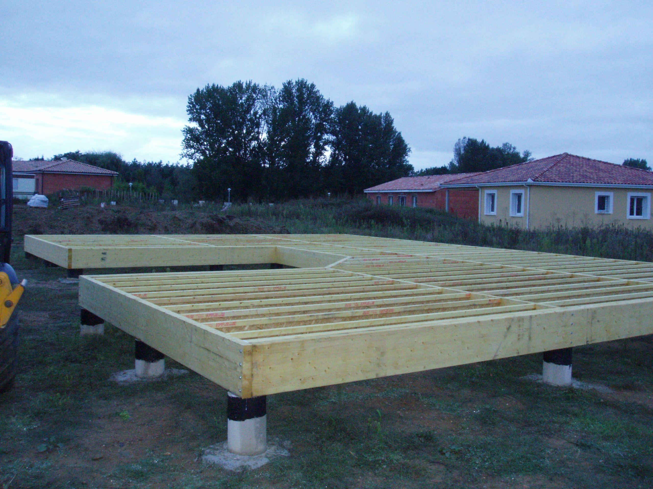 Construction Maison Hors D Eau dedans les 10 Étapes de la construction ami bois] www.ami-bois.fr 3. pose