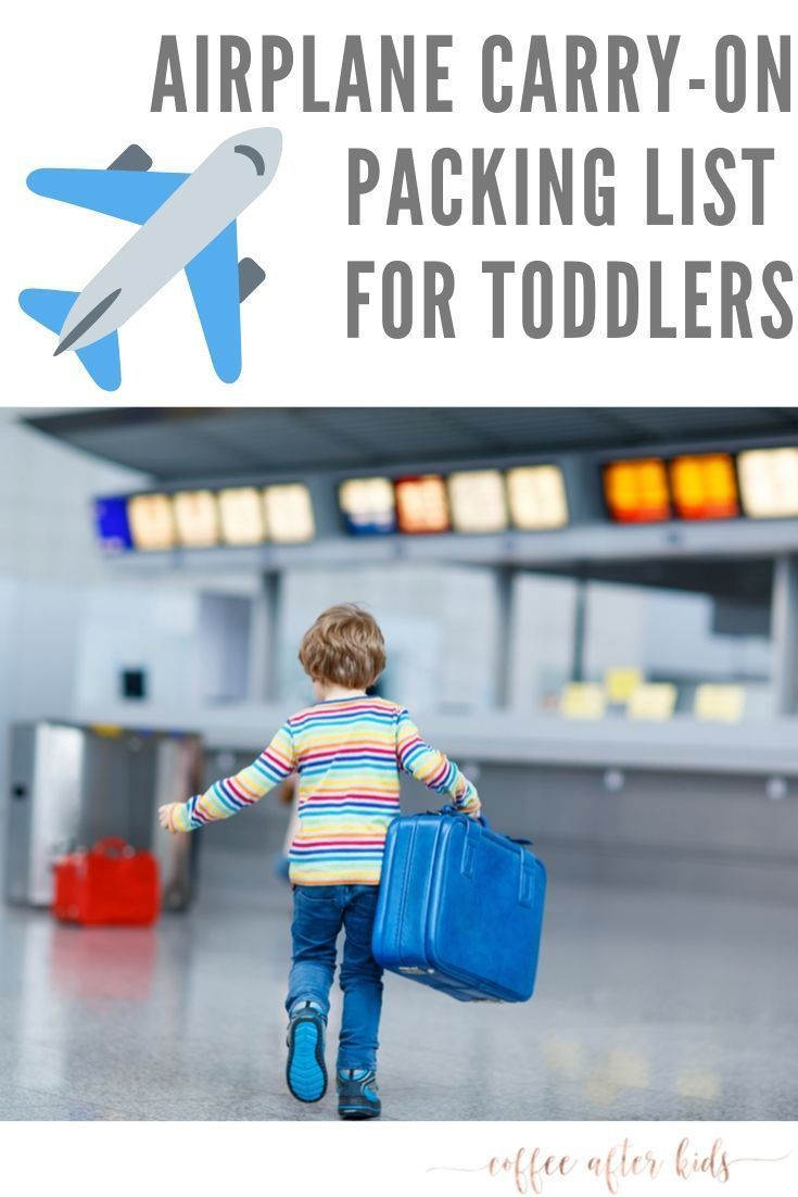 Toddler Airplane Carry-On Packing List #ultimatepackinglist The ultimate packing list for your toddler to keep them busy on your next airplane trip.  ... - #airplane #carry #packing #toddler #ultimate #ultimatepackinglist - #New #ultimatepackinglist