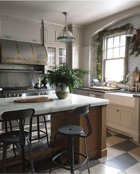 French Industrial Kitchen Design: Kitchen Design, Kitchen