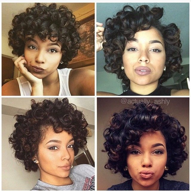 Natural Hair Styles, Relaxed Hair, Roller Set