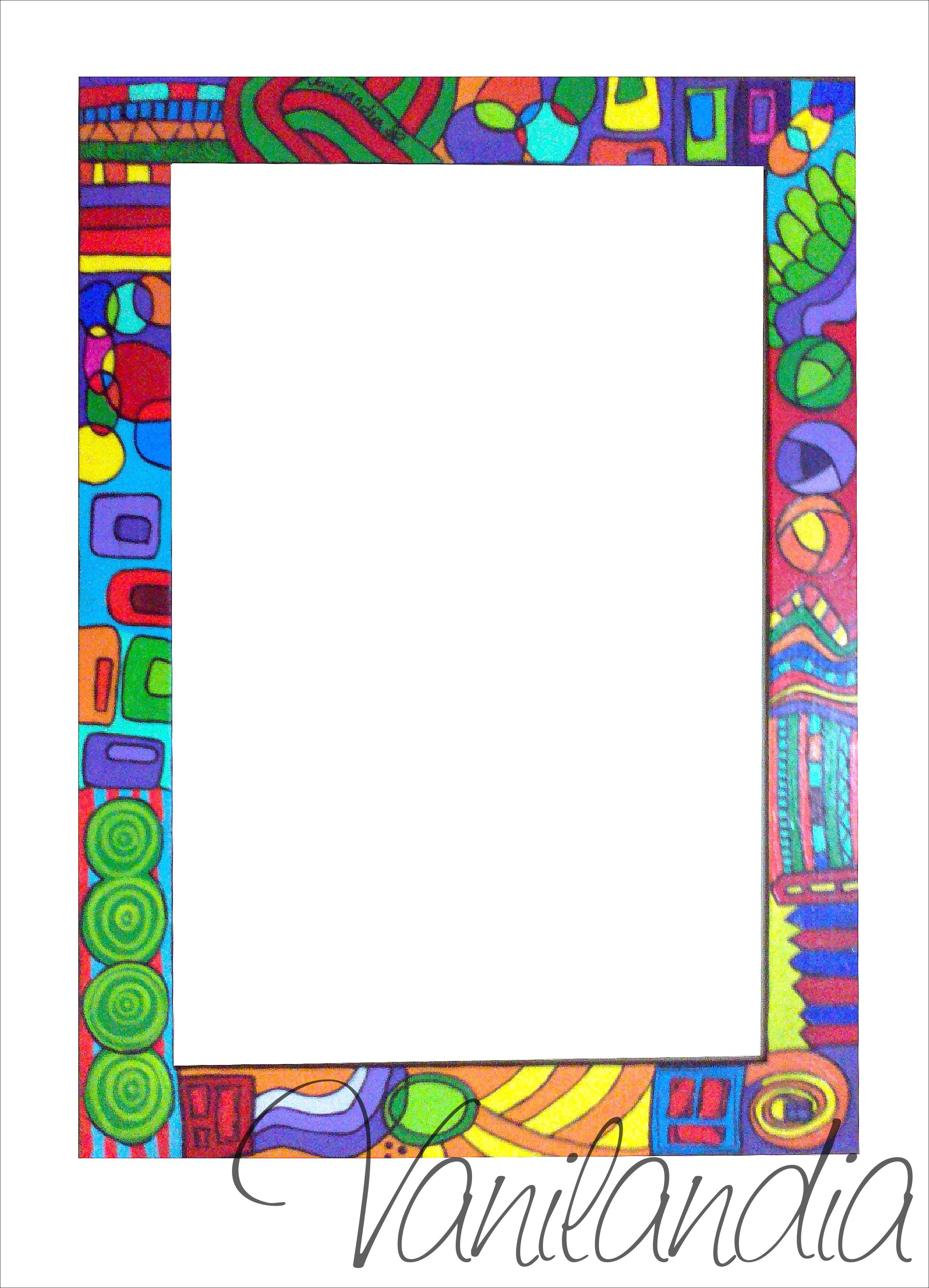 Marco de madera pintado para ba o va con espejo medidas for Espejos para banos con marco de madera