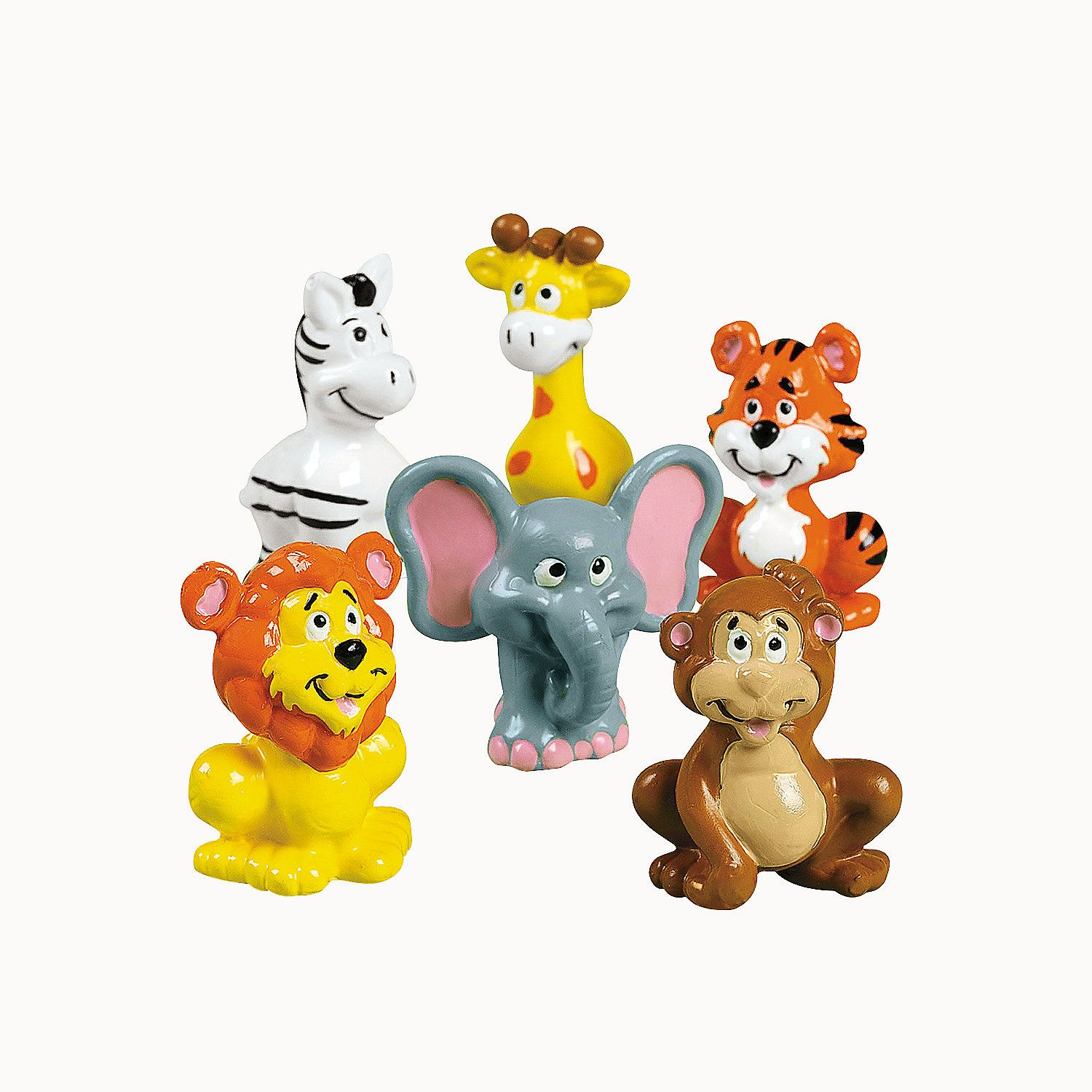 Zoo Animals for wildlife cakes in a