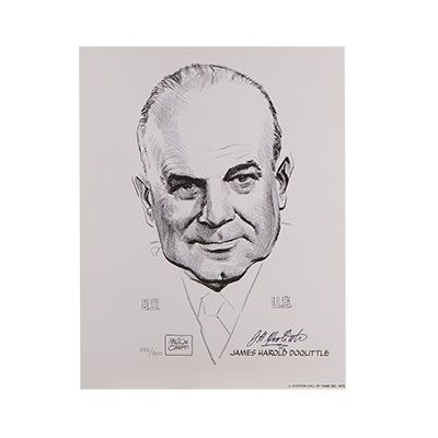Jimmy Doolittle Signed Portrait Limited Edition We Are