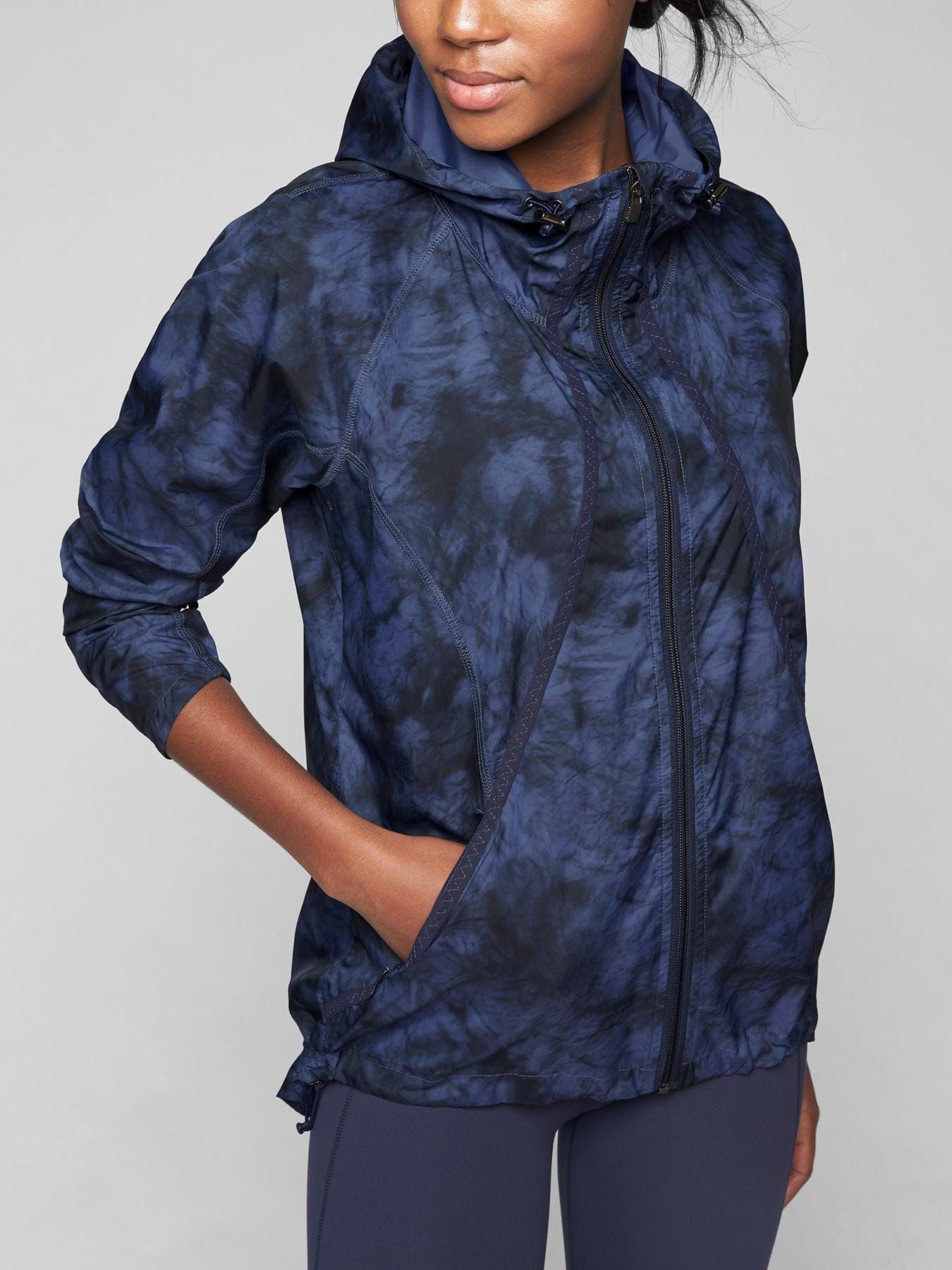 Tie Dye Catalina Upf Jacket Athleta Clothes Design Activewear Jackets Women Tie [ 1800 x 1350 Pixel ]