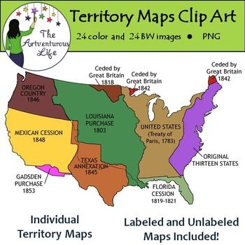 united states map with territories United States Territory Maps Clip Art Map Native American Map