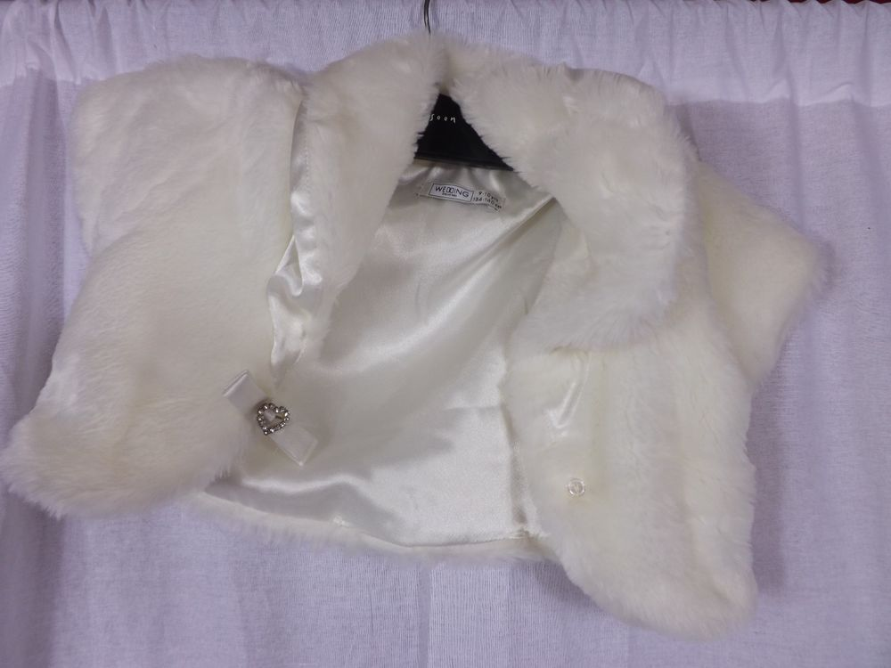Details about BHS Wedding Collection Jacket girls 9-10 - Ivory ...