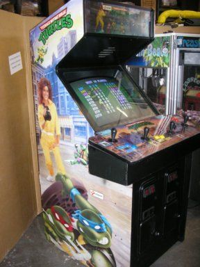 TMNT Arcade Cabinet   Wish List   Pinterest   Arcade, TMNT and ...