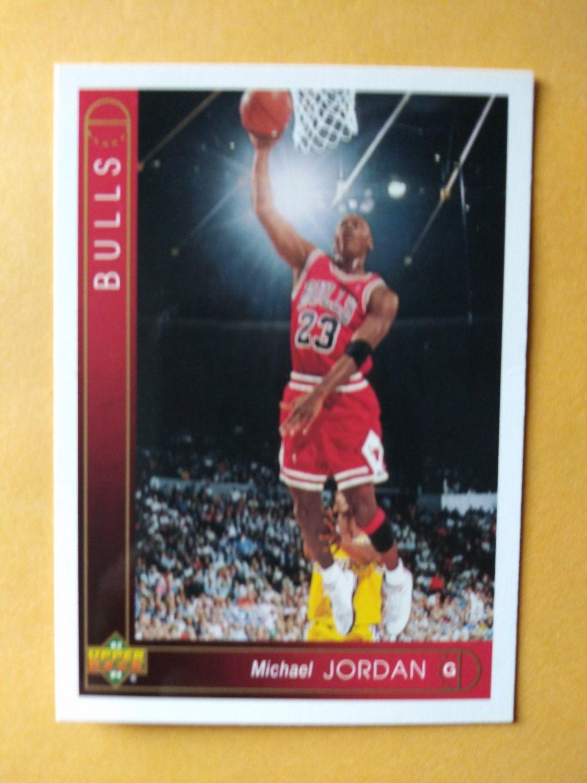 199394 upper deck michael jordan 23 chicago bulls hof
