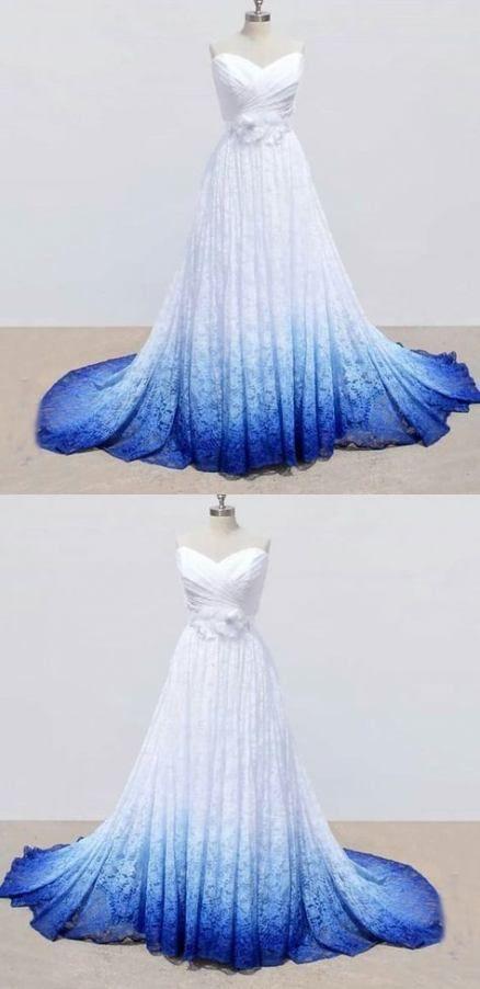 Hochzeitskleid blaue Spitze 47+ Ideen für 2019