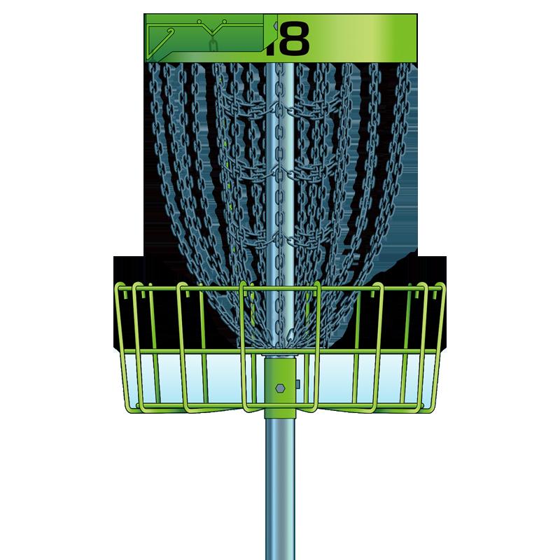 Professional Basket Disc Golf Basket Professional