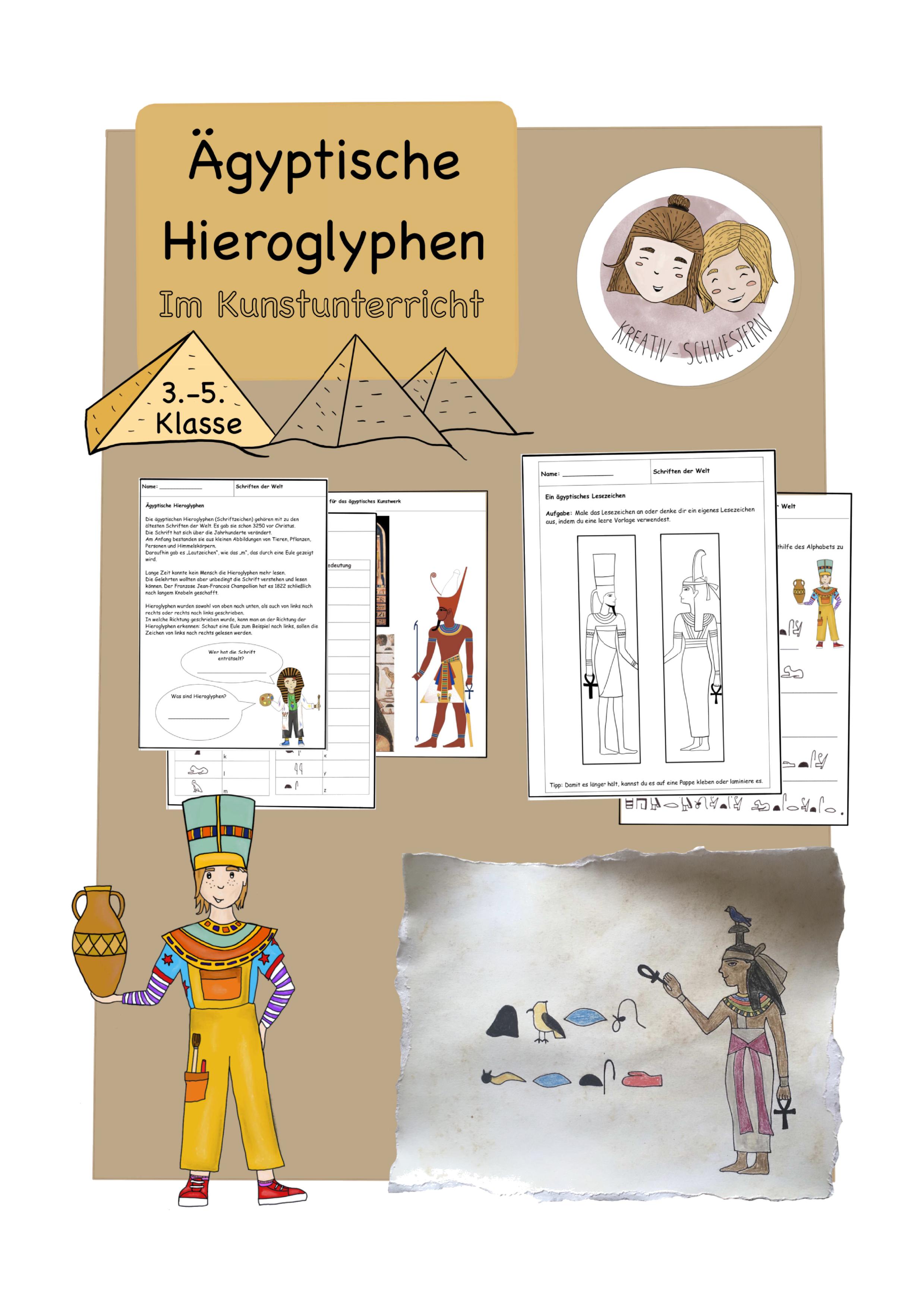 Ägypten Grundschule Material
