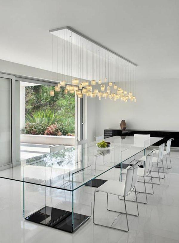 Moderne Esszimmer - einige Ideen für charaktervolles Esszimmerdesign