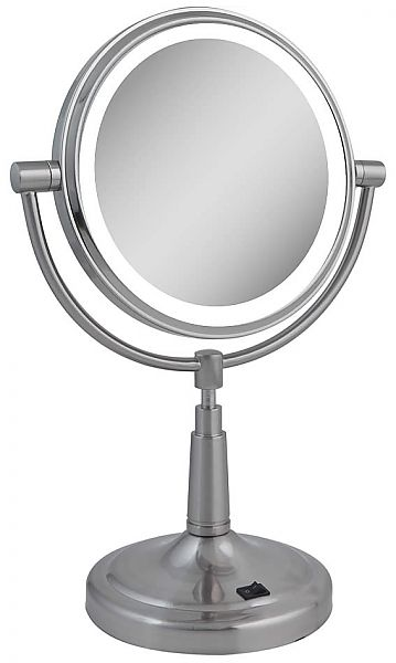 Zadro 10x 1x Next Generation Battery Led Lighted Reversible Vanity Mirror Lighted Vanity Mirror Mirror Makeup Mirror