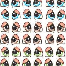 Resultado De Imagem Para Moldes De Olhos Para Bonecas E Animais