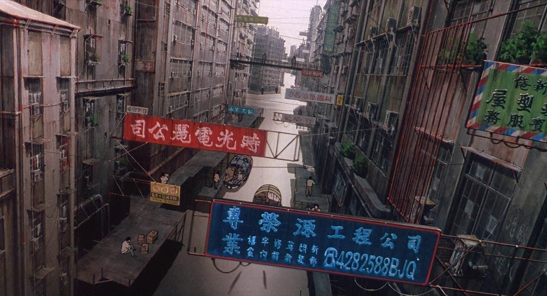 Gits Architecture Ghost In The Shell Anime Background Anime Scenery