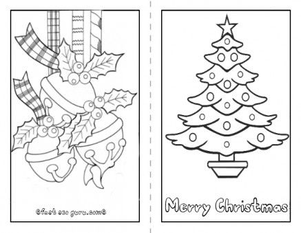 Printable Christmas Tree Card To Color In Page For Kids Free Online Print Ou Christmas Tree Coloring Page Christmas Cards Kids Kids Printable Coloring Pages