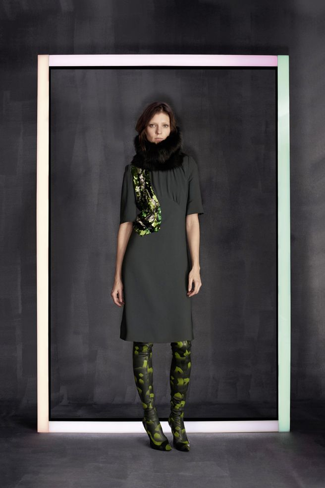 Seasonal signature from the Louis Vuitton Prefall 2014-2015 Collection.