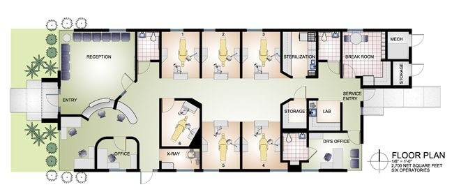Image Result For Dental Surgery Floor Plan Offices