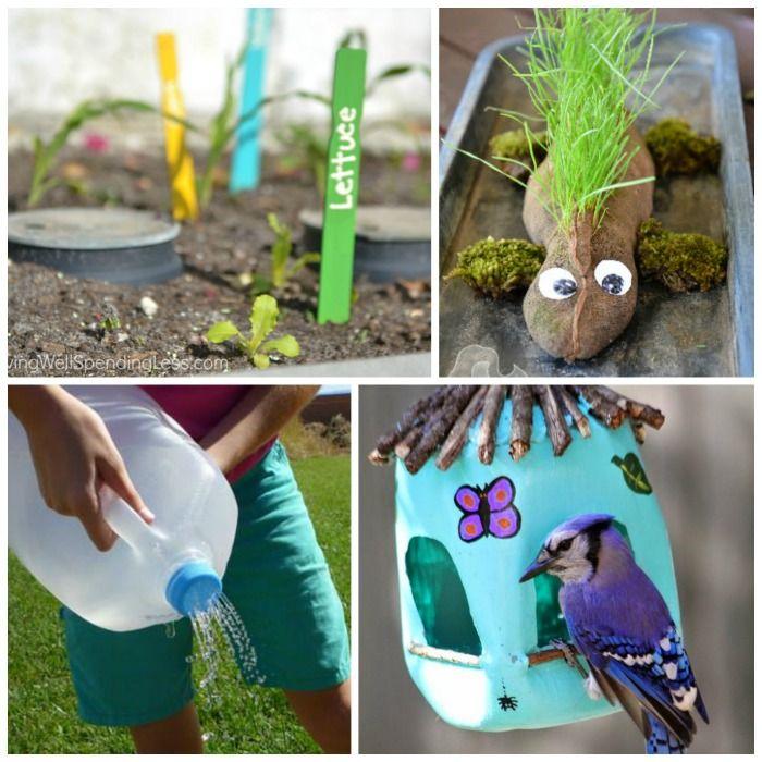 22 Incredible Budget Gardening Ideas: Gardening Activities For Kids