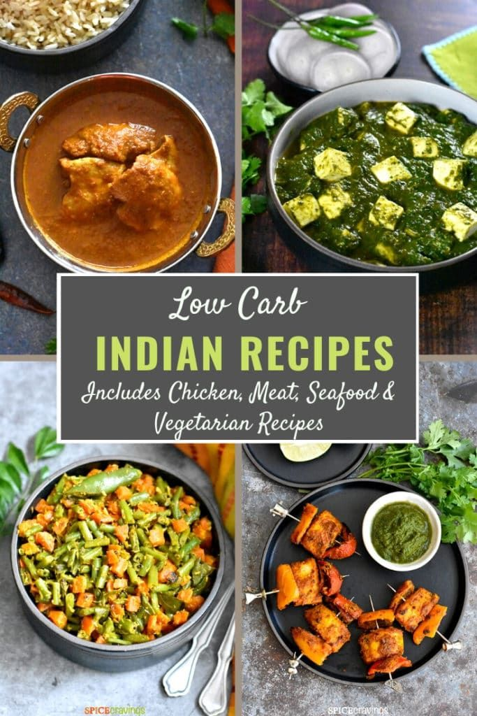 25+ BEST Low Carb Indian Food Recipes in 2020 Indian