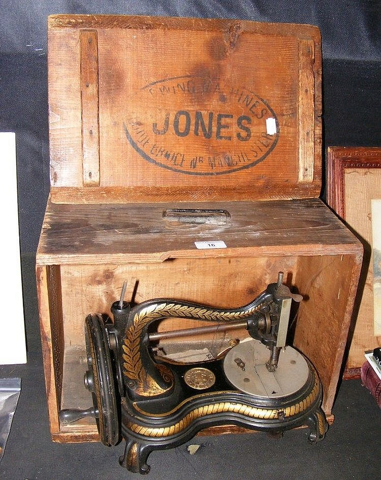 Jones Antique Sewing Machine