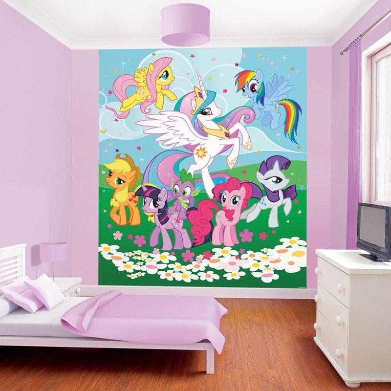 Walltastic My Little Pony Friendship is Magic Wallpaper Mural ...