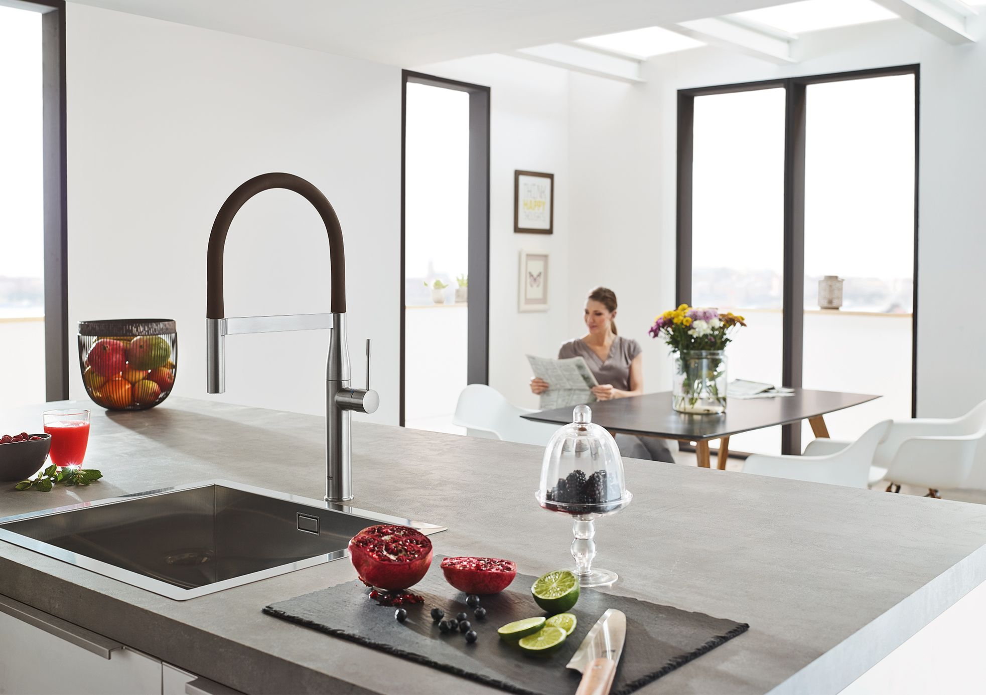grohe kitchen sinks and faucets make your home so chic and on kitchens that ll make you want to redo yours id=61348
