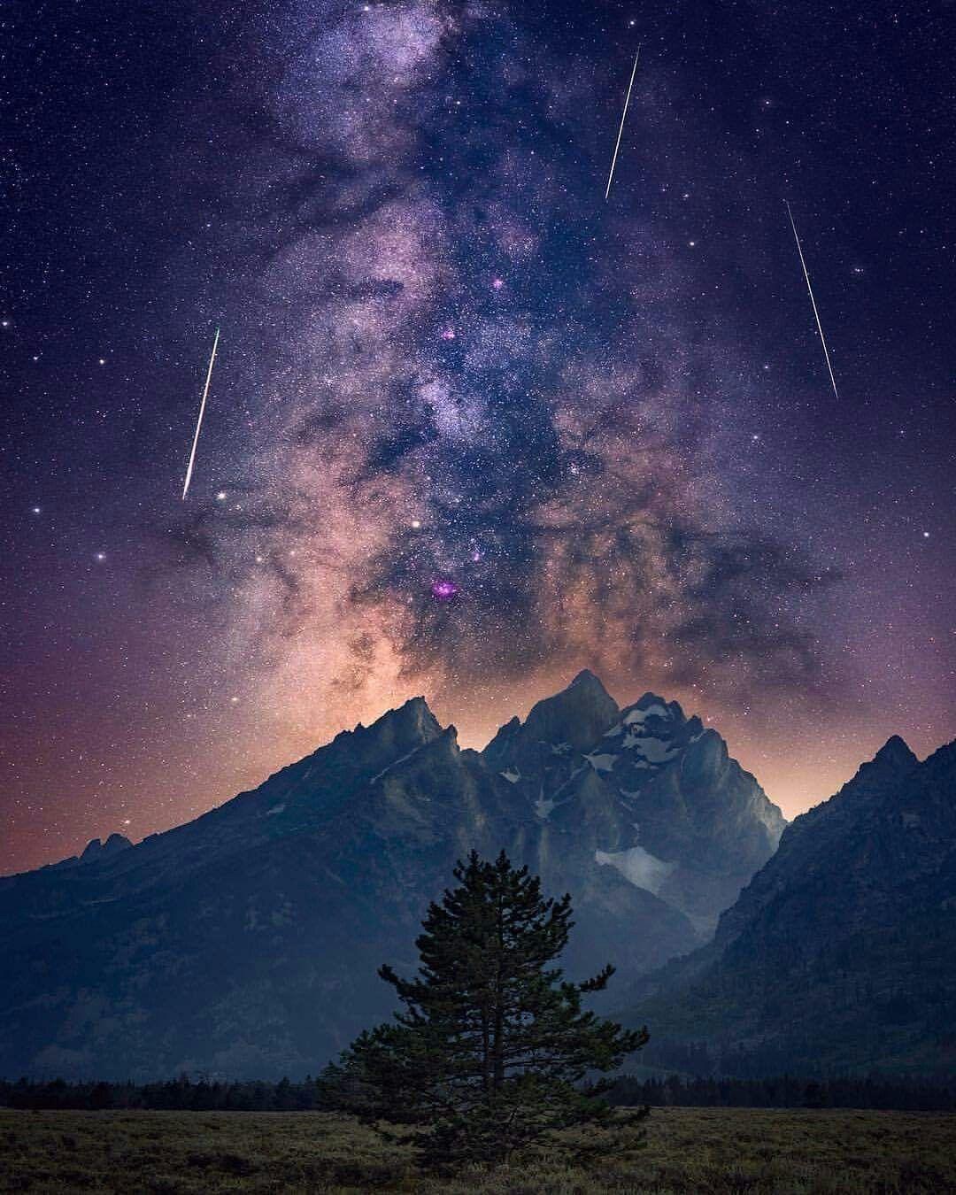 Milky Way Night Sky Free Stock Photo - ISO Republic