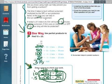 Go Math 3 6 Choose A Multiplication Method Go Math Go