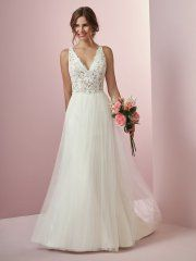 93bf2f9ff4d4 *Maggie Sottero, Connie, 8RW702, Iv/Nude, Sz 12, $948 Available at Debra's  Bridal Jacksonville, FL 32256 Contact us to make an Apt. (904) 519 9900